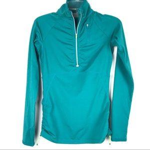 Athleta Tops - Athleta Alacrity Half Zip Pullover Shirt Sz XXS